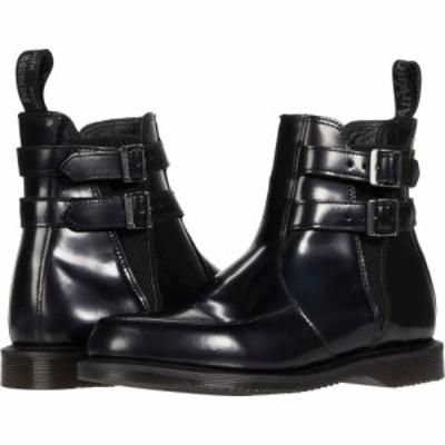 ドクターマーチン Dr. Martens レディース シューズ・靴 Flora Buckle Chelsea Black Polished Smooth