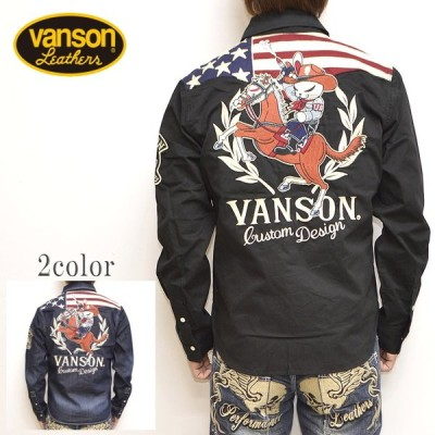 VANSON バンソン×クローズ WORST CRV-933 デニムシャツ 長袖シャツ T.F.O.A 武装戦線 メンズ トップス