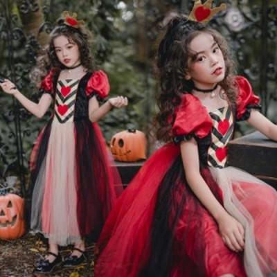 キッズコスプレ衣装 文化祭悪魔 巫女子供ドレス 二次会子供 パーティー ワンピース コスチューム 大人 仮装二枚送料無料