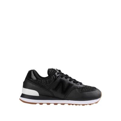 ニュー・バランス NEW BALANCE スニーカー&テニスシューズ(ローカット) ブラック 8.5 革 / 紡績繊維 スニーカー&テニスシューズ(