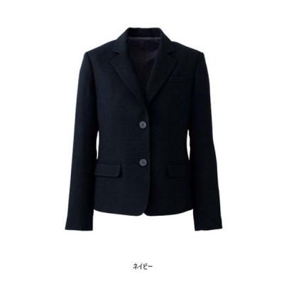 ジャケット ネイビー 紺 グレー 5-17号 制服 オフィス 事務 事務服 企業制服 レディース オフィス