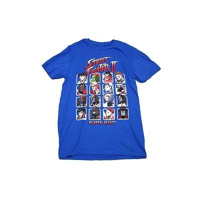 ストリートファイター2 PLAYER SELECT Tシャツ