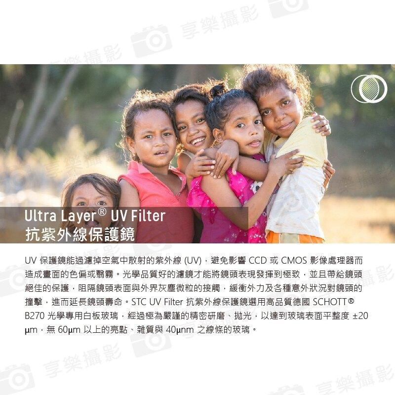 [享樂攝影]【STC】UltraLayer UV Filter/UV鏡/濾鏡/抗紫外線保護鏡 105mm