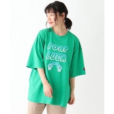 roarLUCK / ロアーラック アイコン半袖Tシャツ