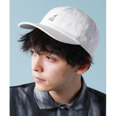 ASTRONOMY / KANGOL ベーシックロゴ刺繍ベースボールキャップ MEN 帽子 > キャップ