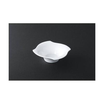 小皿(〜15cm) ユースフル 5.5風車型深鉢 (NW-13)  サラダ 取り皿 陶器 業務用 cc-10113
