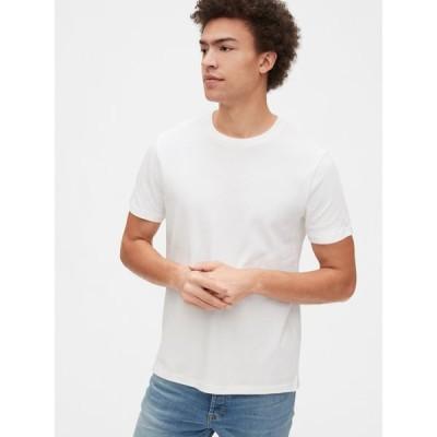 tシャツ Tシャツ ピケクルーネックtシャツ