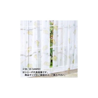 サンリオ ポムポムプリン レースカーテン 2枚セット 100×133cm SB-538-S   4570079220358