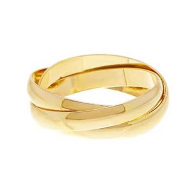Gemaholique Gold Clad Triple Band Ring (8)並行輸入品 送料無料