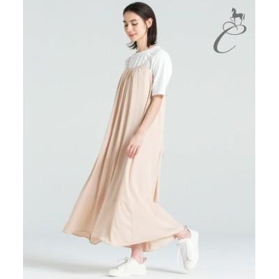 【Class Lounge】HIGH MULTI スリップドレス