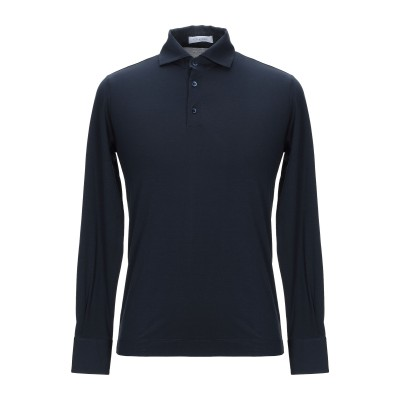 クルチアーニ CRUCIANI ポロシャツ ダークブルー 54 コットン 92% / ポリウレタン 8% ポロシャツ