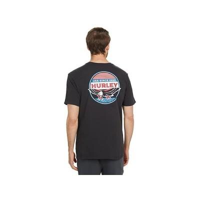 ハーレー USA Eagle Short Sleeve Tee メンズ シャツ トップス Black