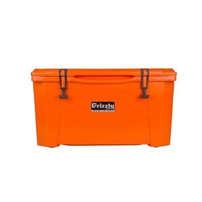 Grizzly 60 Cooler, Orange, G60, 60 QT