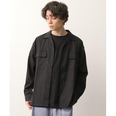 ジュンレッド/ポリトロCPOシャツ/ブラック/L