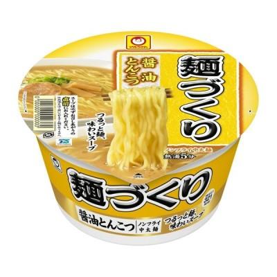 マルちゃん 麺づくり 醤油とんこつ 89g まとめ買い(×12)