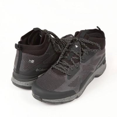 コロンビア ヴィテッセ ミッド アウトドライ BM0134-010 メンズシューズ 黒靴 黒スニーカー ブラック