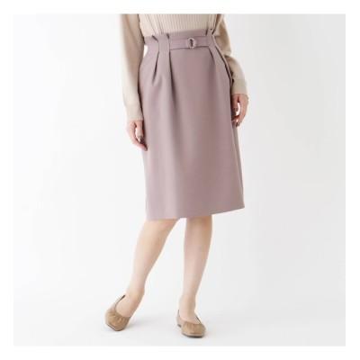 【スープ/SOUP】 【大きいサイズあり・13号】ベルトディテールタイトスカート