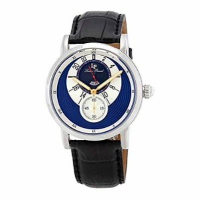 腕時計 ルシアンピカール メンズ Lucien Piccard Santorini Dual Time Men's Watch 40043-03