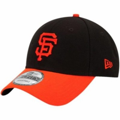 New Era ニュー エラ スポーツ用品  New Era San Francisco Giants Black/Orange League 9Forty Adjustable Hat