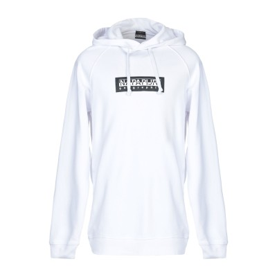 ナパピリ NAPAPIJRI スウェットシャツ ホワイト XL コットン 95% / ポリウレタン 5% スウェットシャツ