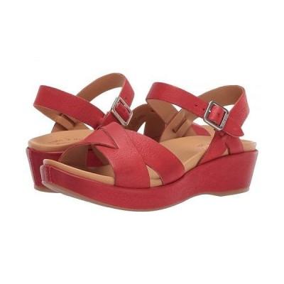 Kork-Ease コークイーズ レディース 女性用 シューズ 靴 ヒール Myrna 2.0 - Red Full Grain Leather