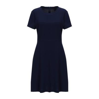 アスペジ ASPESI ミニワンピース&ドレス ダークブルー 42 トリアセテート 70% / ポリエステル 30% ミニワンピース&ドレス