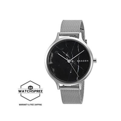 腕時計 スカーゲン Skagen Anita Steel Mesh Marble Watch SKW2673
