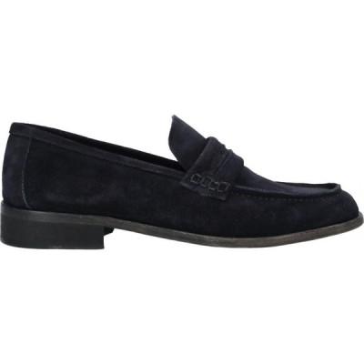デヴォン DEVON メンズ ローファー シューズ・靴 loafers Dark blue