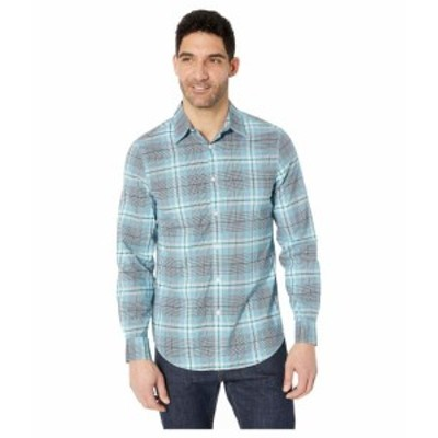 Perry Ellis ペリーエリス 服 一般 Multi Plaid Resist Spill Stretch Shirt