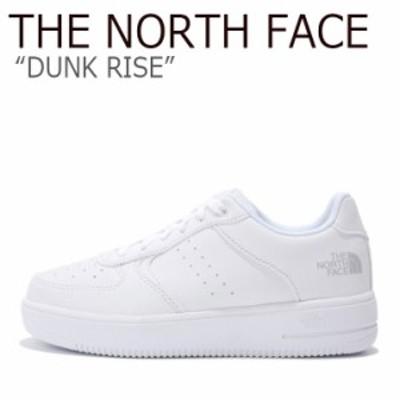 ノースフェイス スニーカー THE NORTH FACE メンズ レディース DUNK RISE ダンク ライズ WHITE ホワイト NS93K37J シューズ