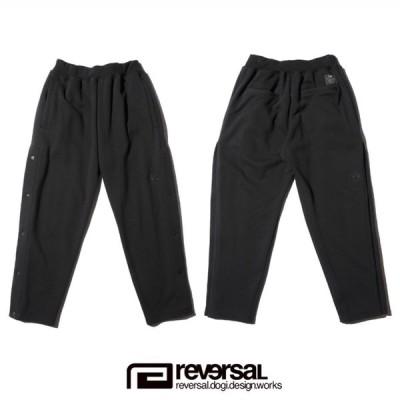 reversal リバーサル スウェットパンツ BIG MARK SIDE OPEN SWEAT PANTS (2カラー/ブラック・グレー)