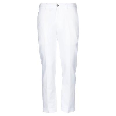 マウロ グリフォーニ MAURO GRIFONI パンツ ホワイト 44 コットン 70% / 麻 30% パンツ