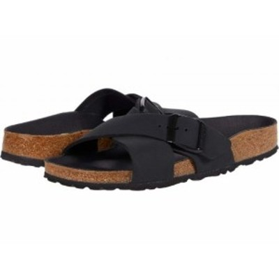 Birkenstock ビルケンシュトック レディース 女性用 シューズ 靴 サンダル Siena Black Nubuck【送料無料】