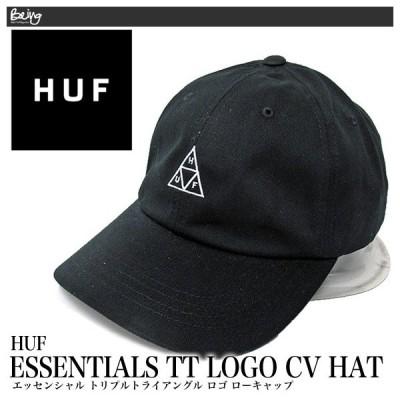 【メール便配送】ハフ キャップ HUF エッセンシャル トリプルトライアングル ロゴ ローキャップ HT00346 帽子