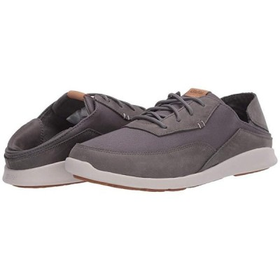 OluKai Kihi メンズ スニーカー 靴 シューズ Charcoal/Charcoal