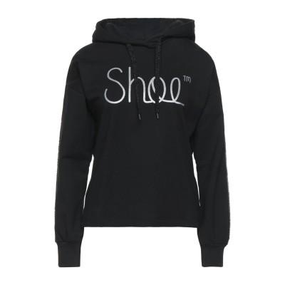 SHOESHINE スウェットシャツ ブラック M コットン 95% / ポリウレタン 5% スウェットシャツ