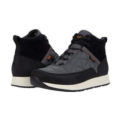 Teva テバ メンズ 男性用 シューズ 靴 ブーツ ハイキング トレッキング Ember Commute Waterproof - Black/Grey