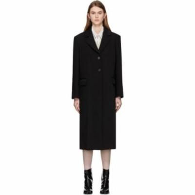 メゾン マルジェラ Maison Margiela レディース コート アウター black scuba bonded coat Black