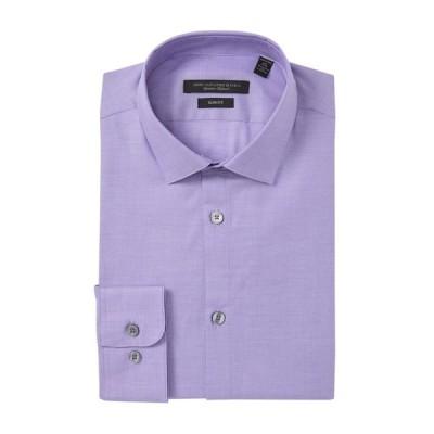 ジョンバルベイトス スター ユーエスエー メンズ シャツ トップス Slim Fit Solid Dress Shirt LILAC