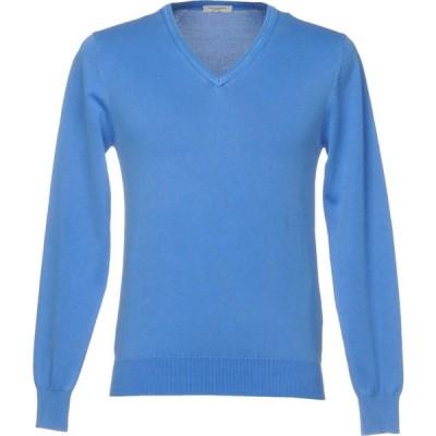 パオロ ペコラ PAOLO PECORA メンズ ニット・セーター トップス Sweater Azure