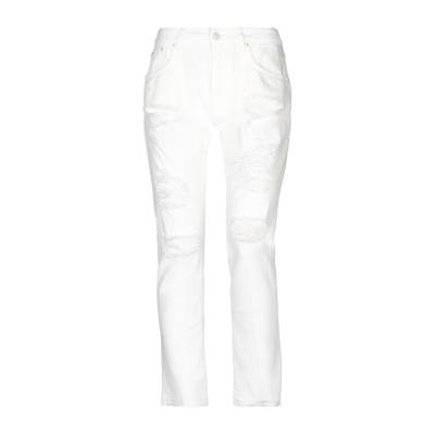 プラスピープル (+) PEOPLE パンツ ホワイト 27 コットン 100% パンツ