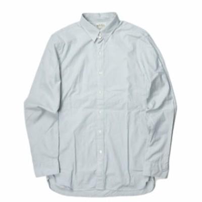 RRL ダブルアールエル STRIPE TAB COLLAR DRESS SHIRTS ストライプタブカラードレスシャツ 15 ブルー Double RL 長袖 トップス