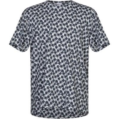 WOOL & CO T シャツ ダークブルー XXL コットン 100% T シャツ