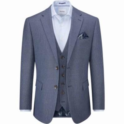 スコープス Skopes メンズ スーツ・ジャケット アウター Rugani Jacket Blue