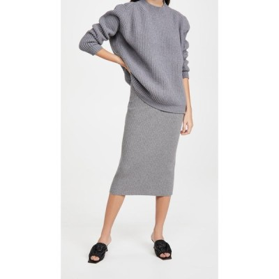 アンダマン The Andamane レディース ひざ丈スカート スカート Eulalia Midi Skirt Medium Grey