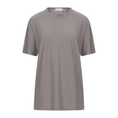 グラン サッソ GRAN SASSO T シャツ ドーブグレー 52 コットン 100% T シャツ