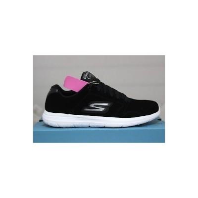 アスレチック スケッチャーズ Skechers Go Walk City CHALLENGER 13828/BKW ブラック ホワイト Goga Mat