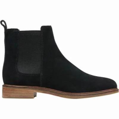 クラークス ブーツ Clarkdale Arlo Boot Black Suede