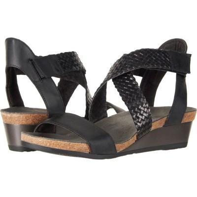 ナオト Naot レディース サンダル・ミュール シューズ・靴 Cupid Oily Coal Nubuck/Black Braid