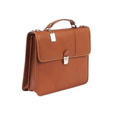 Claire Chase Briefcase, Saddle, One Size【並行輸入品】